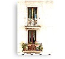 Windows of Maratea Canvas Print
