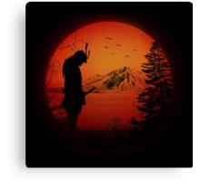 My Love Japan / Samurai warrior / Ninja / Katana Canvas Print