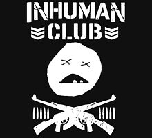 Inhuman Club Black Unisex T-Shirt