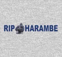 RIP - HARAMBE One Piece - Short Sleeve