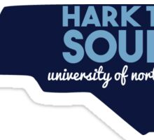 University of North Carolina Hark the Sound Sticker