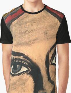 Pop Art Portrait Street Art Graphic T-Shirt