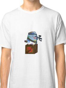 Paint Warrior Penguin Classic T-Shirt