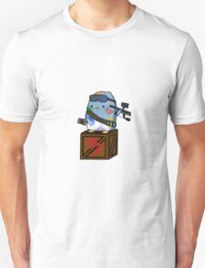 Paint Warrior Penguin Unisex T-Shirt