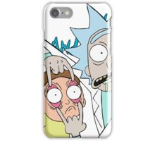 Rick and Morty Open Eyes iPhone Case/Skin