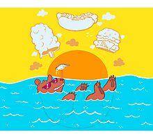 Summer Soak Photographic Print
