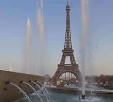 Trocadero gardens and Eiffel tower, Paris by PhotoBilbo
