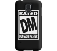 Rated DM for Dungeon Master Samsung Galaxy Case/Skin
