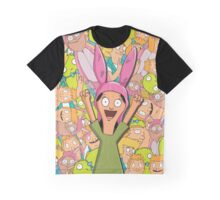 Louise Collage Graphic T-Shirt