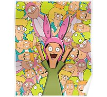 Louise Collage Poster