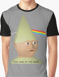Dank side of the Moon. Graphic T-Shirt
