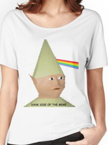 Dank side of the Moon. Women's Relaxed Fit T-Shirt