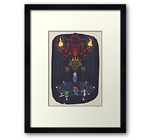 CT : First encounter! Framed Print