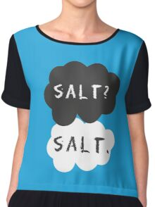 Salt? Salt. POTS Awareness Chiffon Top