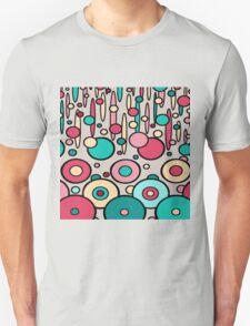 Retro Circle Modern  Unisex T-Shirt