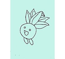 Oddish Sketch Photographic Print