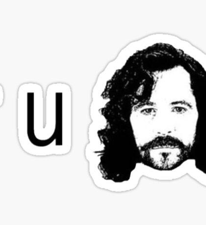 R U Sirius Sticker