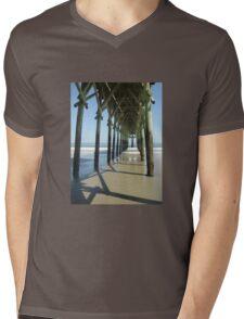 Under the Pier Mens V-Neck T-Shirt