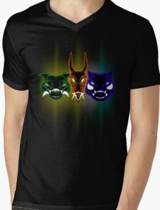 Monsters of the First Gen Mens V-Neck T-Shirt