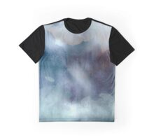 Into the Mist, watercolor Graphic T-Shirt