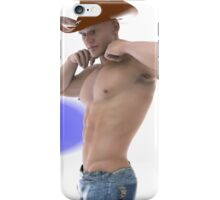 Strong willed cowboy iPhone Case/Skin