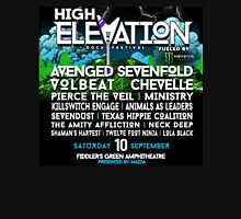 HIGH ELEVATION ROCK FEST SEPT 10, 2016 LOGO Unisex T-Shirt