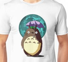totoro and moon Unisex T-Shirt