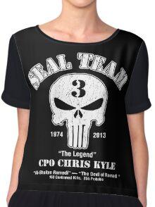 American Sniper Chris Kyle Punisher Chiffon Top