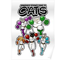 Armoured Science Kung-Fu Cats Poster