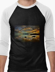Golden Mirror of Nature Men's Baseball ¾ T-Shirt