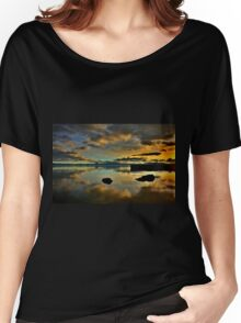 Golden Mirror of Nature Women's Relaxed Fit T-Shirt