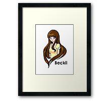 Beckii Cruel Framed Print