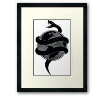 Tech N9ne - Strangeulation Snake Framed Print