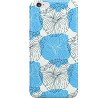 Vector floral pattern in doodle style with flowers. Gentle, spring iPhone Case/Skin