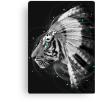 Don't Define Your World (Chief of Dreams: Tiger) Tribe Series Canvas Print