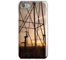 The Tired Well Has No Fans iPhone Case/Skin