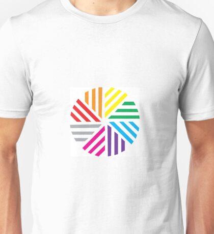 LGBTQ Pinwheel Unisex T-Shirt