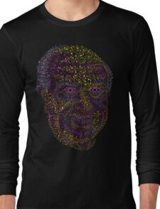 Albert Hofmann psychedelic portrait Long Sleeve T-Shirt