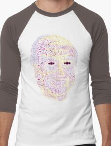 Albert Hofmann psychedelic portrait Men's Baseball ¾ T-Shirt