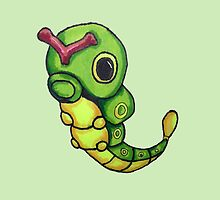 Caterpie by fantasylace