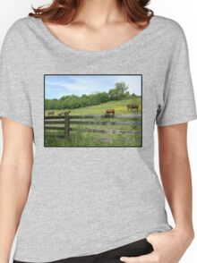 Springtime in a Peaceful Pasture Women's Relaxed Fit T-Shirt