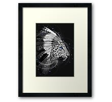 Don't Define Your World (Chief of Dreams: Amur Leopard) Tribe Series Framed Print