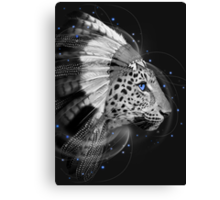 Don't Define Your World (Chief of Dreams: Amur Leopard) Tribe Series Canvas Print