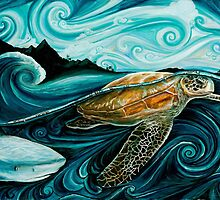 Turtle and Shark Legend by Tanya Ibarra
