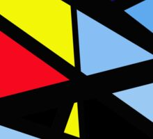 Colorful abstraction Sticker