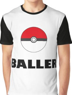 Pokemon baller Graphic T-Shirt