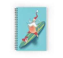 Aussie Santa Spiral Notebook