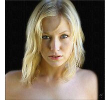 Blond Beauty Photographic Print