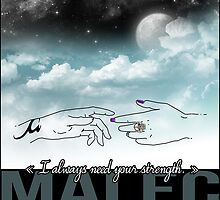 MALEC - I always need your strength  by Saraelle