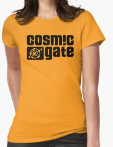 cosmic gate Womens Fitted T-Shirt